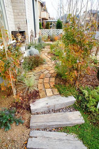 お庭は完成することがない魅力あふれる空間☆