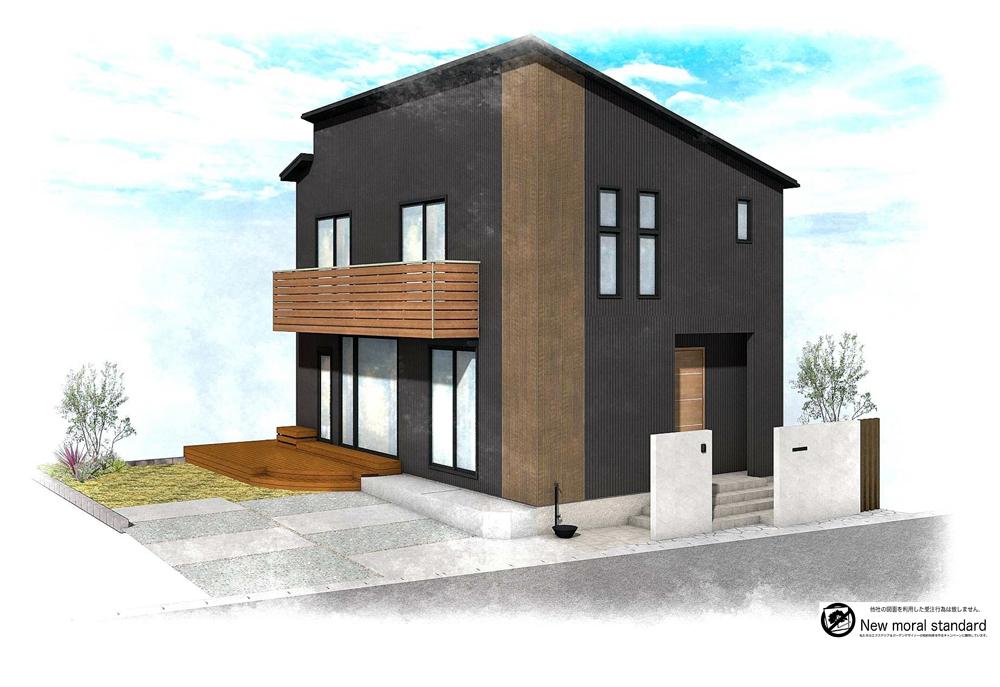外構をランド・ガーデンが担当します|家CoCoリノベーションモデルハウス【紡ぎの家】