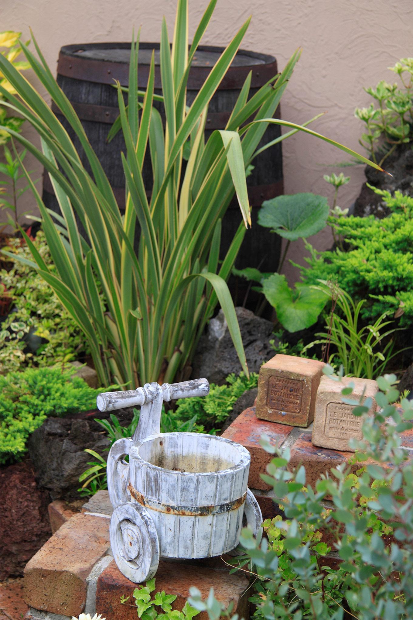 四季のうつろいが、そこにあるお庭