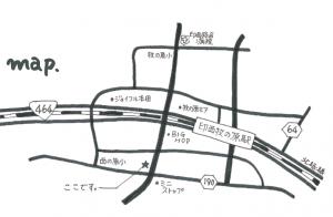 LGガーデン見学会ツアーmap